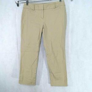Ann Taylor Loft Marisa Capri Cropped Pants Size 4P